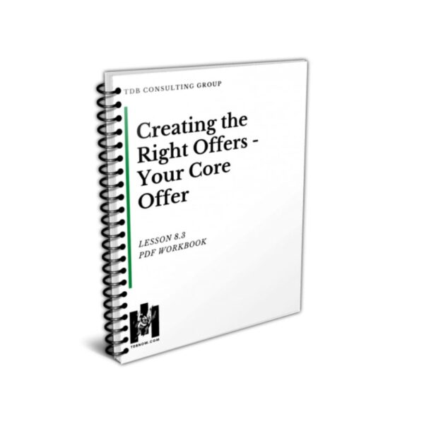 Your Core Offer Workbook