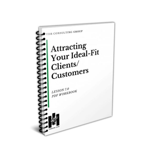 Attracting Your Ideal-Fit Clients/Customers Workbook