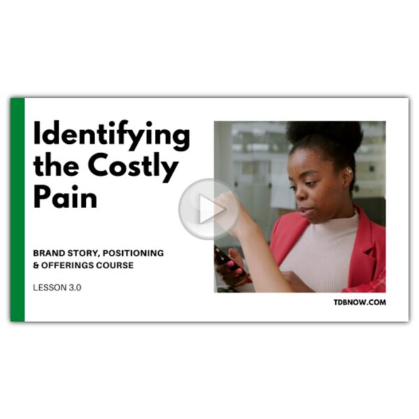 Identifying the Costly Pain Video Lesson