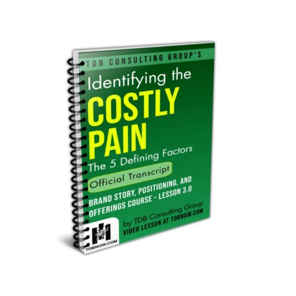 Identifying the Costly Pain Official Transcript