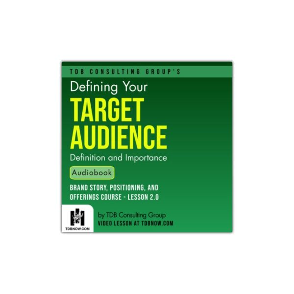 Target Audience Definition Audiobook