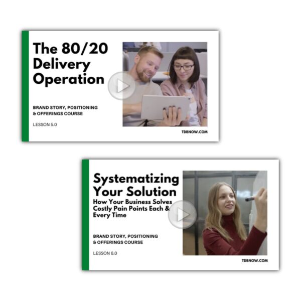 Optimization and Systematization Value Bundle - Video Lessons