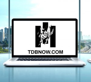 TDB Consulting Group logo on Laptop