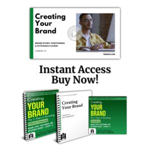 Creating Your Brand - Lesson Bundle