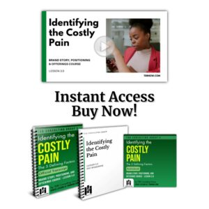 Identifying the Costly Pain - Lesson Bundle