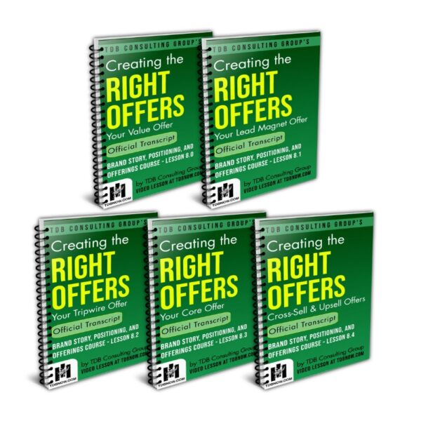 Right Offers Value Bundle - Transcripts