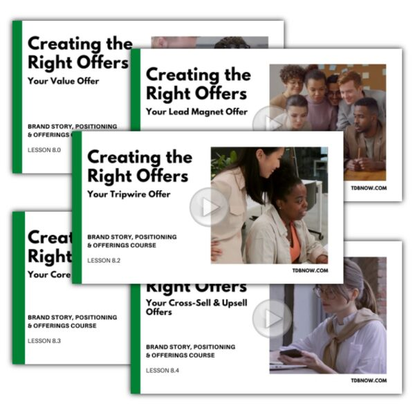 Right Offers Value Bundle - Video Lessons